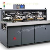 Hot bottle screen printing machine