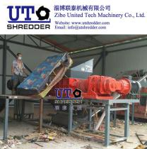 sofa shredder, double shaft shredder, waste furniture shredder, furniture crusher, hig performance from United Tech