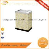 hotel supplies square wastebasket living room trash GPX-135
