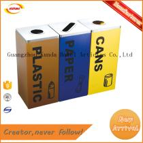 3 in 1 outdoor trash bin series GPX-601