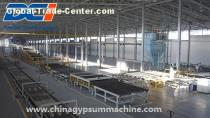 gypsum board production line quote