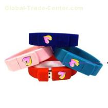Safety Colorful USB 2.0 Driver Braclet USB, Fancy USB Bracelet