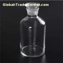 Reagent Bottle Clear Glass Narrow Mouth With Ground In Glass Or Plastic Stopper