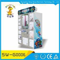 Electronic Gifts Redemption Arcade Attractive Push Vending Toy Prize Game Machine