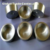 Cusom High Purity Tungsten Crucible Resistant High Temperature