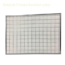 Panel filter to remover mist or grease
