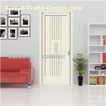 European Style Antimildew Ecofriendly WPC Paint Security Door With High Strength