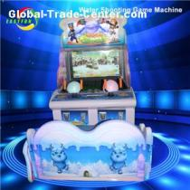 Exciting Indoor Arcade Amusement Kids Coin Operated Water Shooting Game Machine