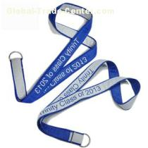 Functional Satin Fabric Double Layers Neck Lanyard