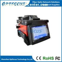Fiber Optic Cable Fusion Splicer Machine with Fiber Holders Include Optical Fiber Cleaver