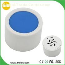 ABS Round Shaped Sound Recordable Box for Drug Reminder with Push Button