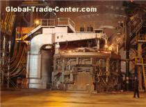 electric arc furnace used for melting quality carbon and alloy steel