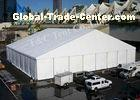 Flame Retardant Waterproof Canopy Tent Free Span Space With Steel Aluminium Frame