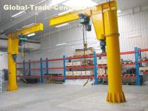 360 Swing Arm Column Floor Mounted Jib Crane Manufacturer
