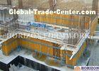 High Efficiency Wall Formwork Systems , Core Wall Formwork With Push Pull Props