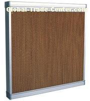 High quality Water air cooler/wet curtain in poultry house/cooling pad in chicken house