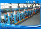 Adjustable Pipe Size Steel Pipe Production Line Carbon Steel With 100m / Min Running Speed