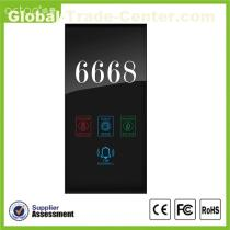 Smart Hotel Electrical Number displaly Doorplate