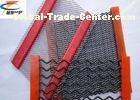 Low Carbon Steel Gravel Screen Mesh , Thick Quarry Screen Mesh Anti - Clogging