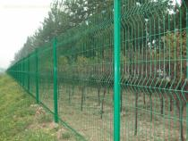 6ft x 8 ft Powder Coated green Panel fence