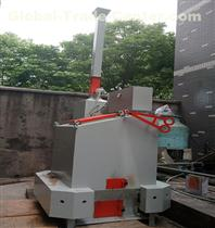 Household garbage pyrolysis furnace