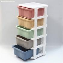 Hot sale Space saving 3 layers storage organizer box plastic storage drawers