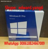 Win 8.1 Professional Genuine /Original License Key Code Coa Sticker & DVD& Sealed Packing Box
