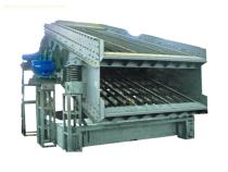 Mobile coke circular vibrating screen