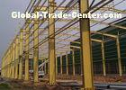 Safety Industrial Steel Structures , Multi Layer Pre Engineering Steel Structure Workshop