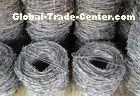 Zinc Coating Security Barbed Wire Metal For Protecting Mesh / Grass Bound