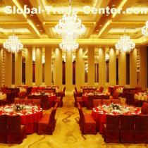 Soundproof Sliding Acoustic Commercial Room Divider Hotel Movable Folding Partition Wall