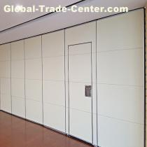 Hanging System Aluminium Track Folding Operable Movable Partition Wall
