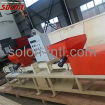 Sawdust pallet block recycling pallet feet making machine