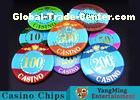 Mini Engraved Customizable Casino Poker ChipsFor Entertainment Venues Games