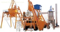 Mobile Forced Asphalt Mixing Plant