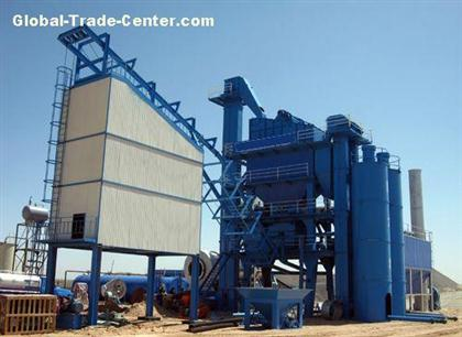 LB Series stationary asphalt mixing plant