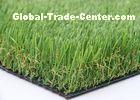 Healthy PE Artificial Green Grass Carpet / Fake Plastic Grass For Indoor Decoration