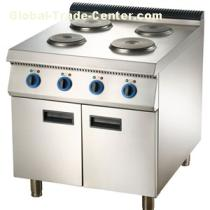 Electric Range Hot Plate Cooker With Cabinet Or Oven Commercial Kitchen Equipment