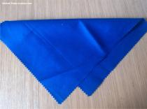 stock flame resistant FR cotton fabric royal blue
