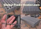 Steel Bar Reinforcing Woven Steel Mesh Panels For Concrete Construction