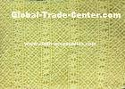 "50"" Yellow Polyester Guipure Lace Trim Crochet For Clothes Accessories"