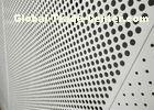Decorative Perforated Aluminum Sheet For The Curtain Wall / Electric Conductor