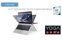 Yoga Premium High Performance 13.3in IPS Touchscreen Convertible 2-in-1 Laptop