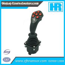 CANbus output industrial joystick control for crane