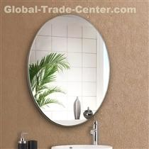 4MM OVAL BEVELED BATHROOM MIRROR