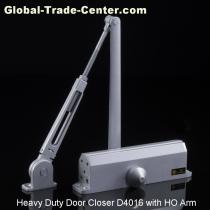 American Design Heavy Duty Door Closer with Hold Open Arm