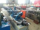 Dry Wall Stud And Track Roll Forming Machine For U And C Section None Stop Cutting