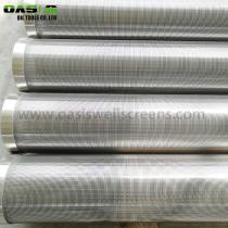 Galvanized carbon steel(LCG) wedge wire screen for water filter