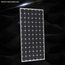 36 pcs 155 W series black polycrystalline solar panel with double anodized aluminium alloy