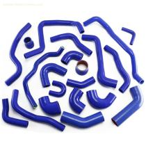 Auto parts silicone radiator hose kit for auto cooling system